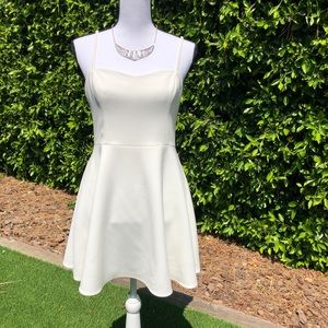 NWOT French Connection White Mini Dress